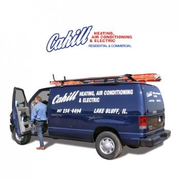 Cahill Heating, Air Conditioning & Electric | HVAC Truck